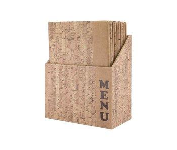 Design menuhouder in box set 10 a435,2 x 27 x 16,4cm