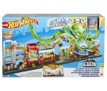 Hot Wheels City - Ultieme Octo Autowasserette