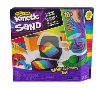 Kinetic sand - Sandisfactory Set (907 g)
