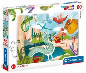 Puzzle Dragons - 60 pièces