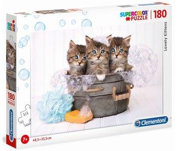 Puzzle Adorables chatons - 180 pièces