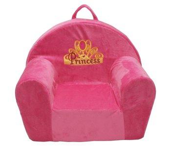 "Kindersofa 52x34x42 cm  roze ""Princess"""