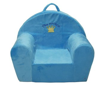 "Kindersofa 52x34x42 cm blauw ""The prince"""