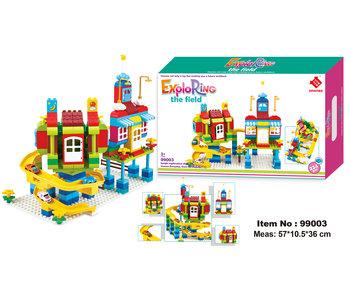 Toboggan Blocks Jungle - 224 pièces 3+