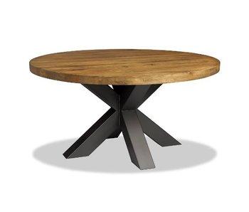 Table mangue ronde - 130x130x76cm