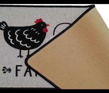 Tapis déco flair cuisine 50x120 cm Farmhouse