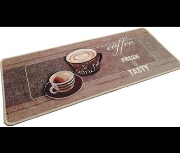 Tapis déco flair cuisine 50x120 cm Coffee