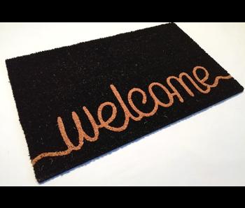 RAJA PLUS Welcome 45X75 cm - noir