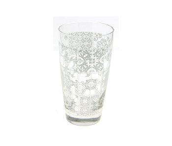 DOMINO GLAS 40CL SET3 CORDOBA BIANCO
