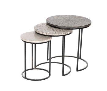 Hamilton Living Table Lior marbre L 45x45h