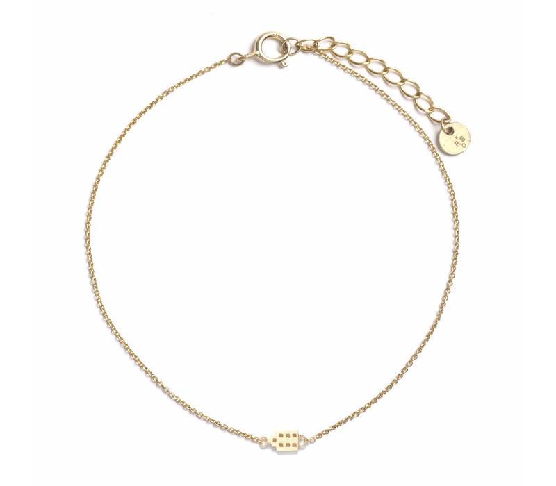 The Jordaan Bracelet 18krt Gold