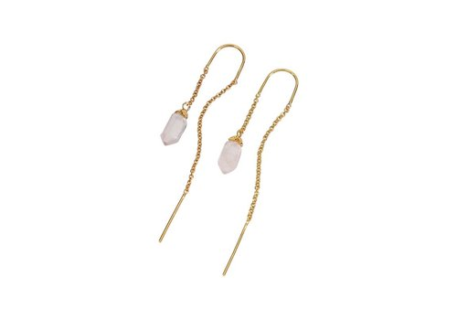 Blush Hangers Gold Plated