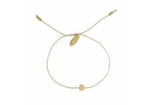Drusy Bracelet Gold Plated