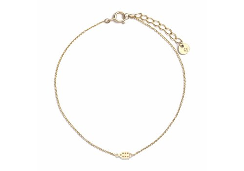 The Jordaan Bracelet gold plated