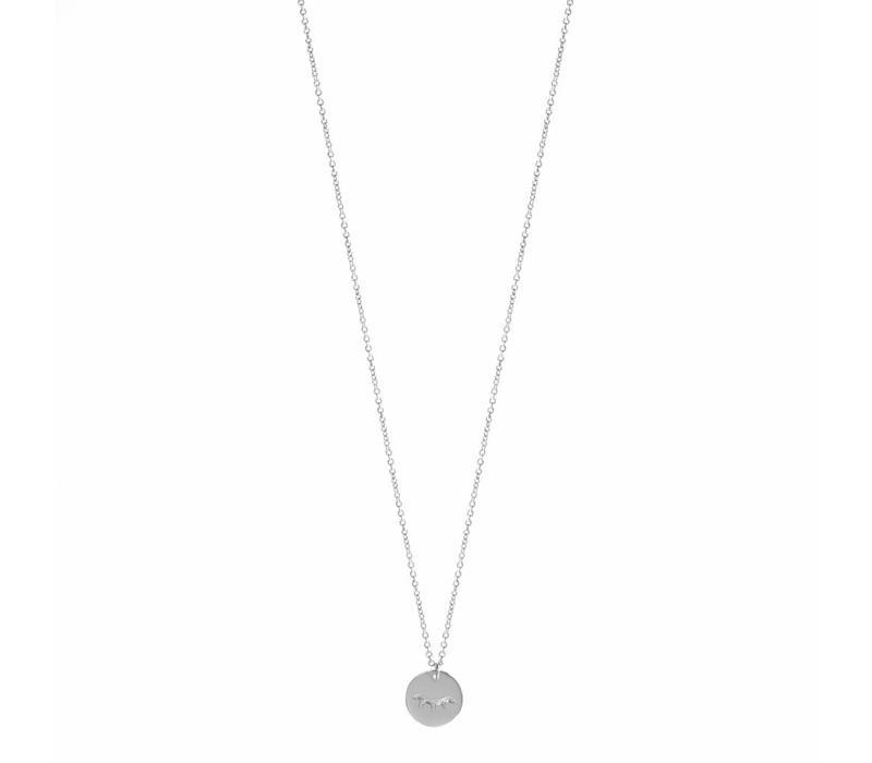Unwind Necklace Silver