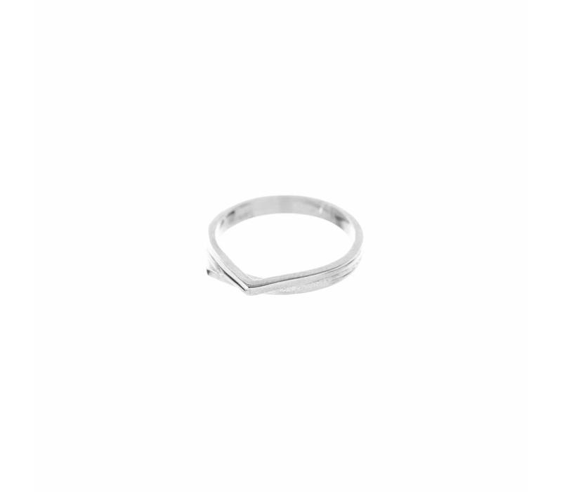 Mountain Ring Silver