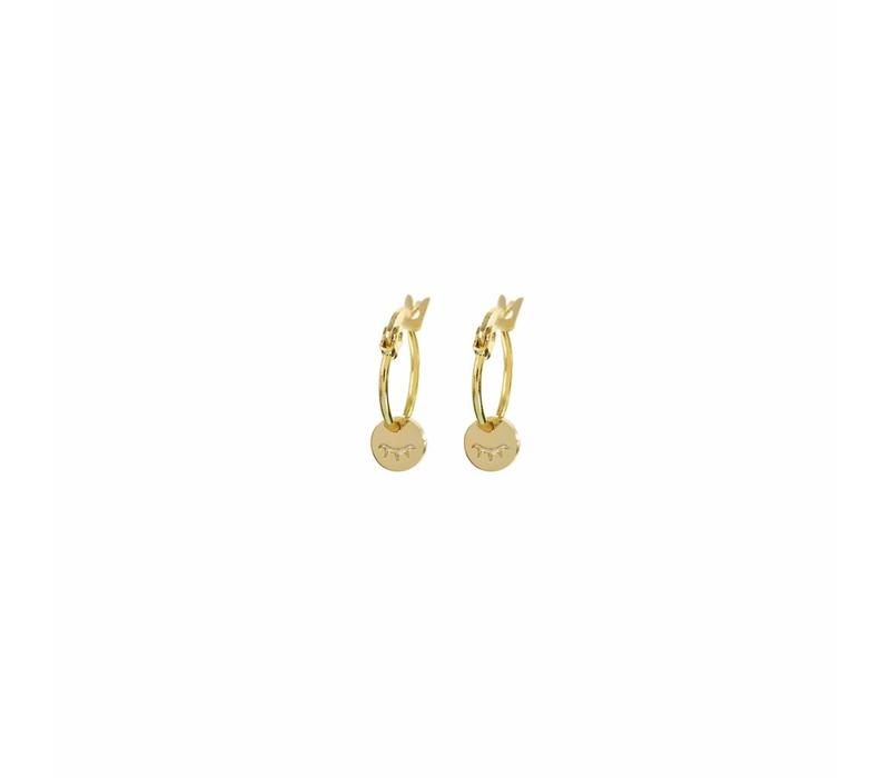 Unwind Hoops Gold Plated