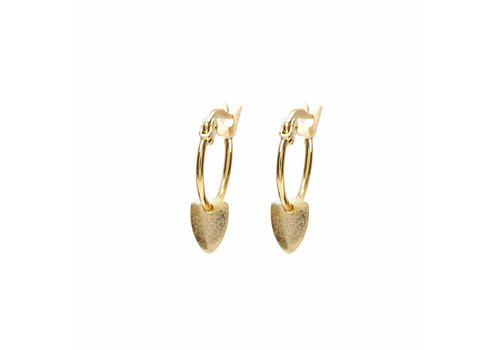 Bali Hoops Gold Plated