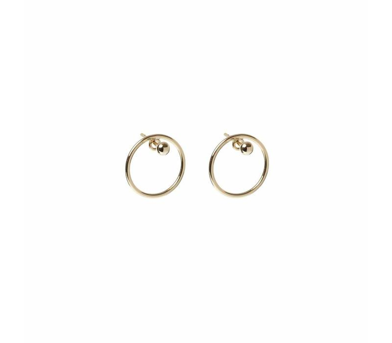 Ace Studs Gold Plated