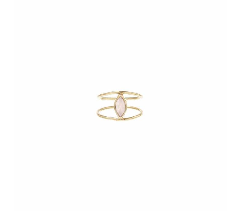 Blush Ring Goud