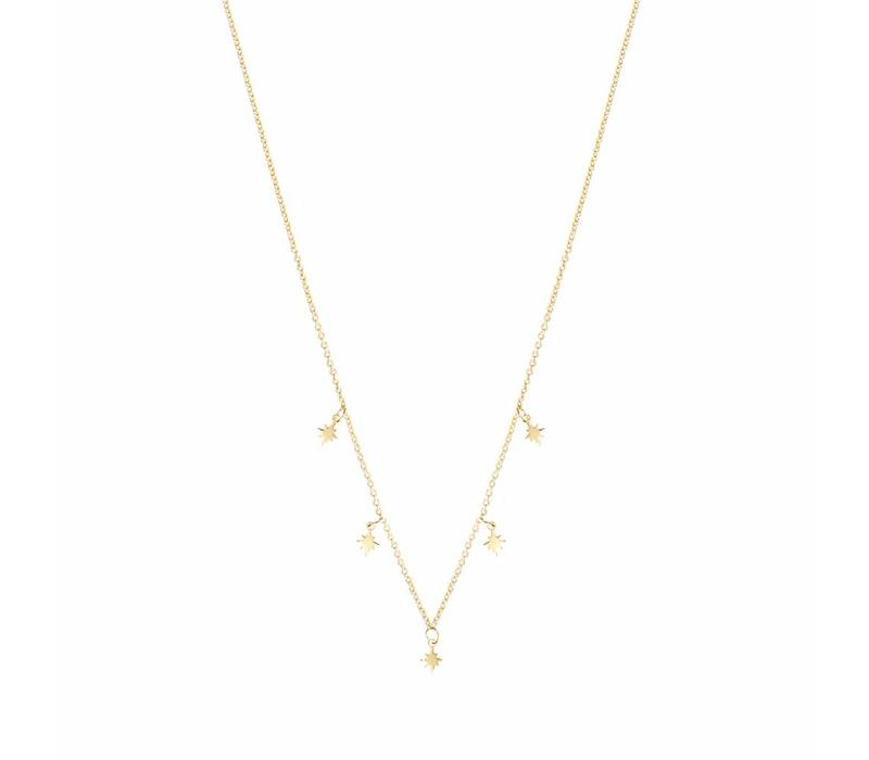 Stellar Necklace Gold Plated