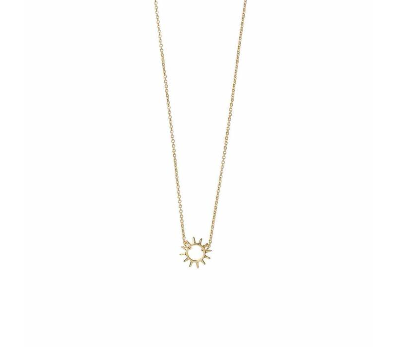 Rise Ketting Gold Plated