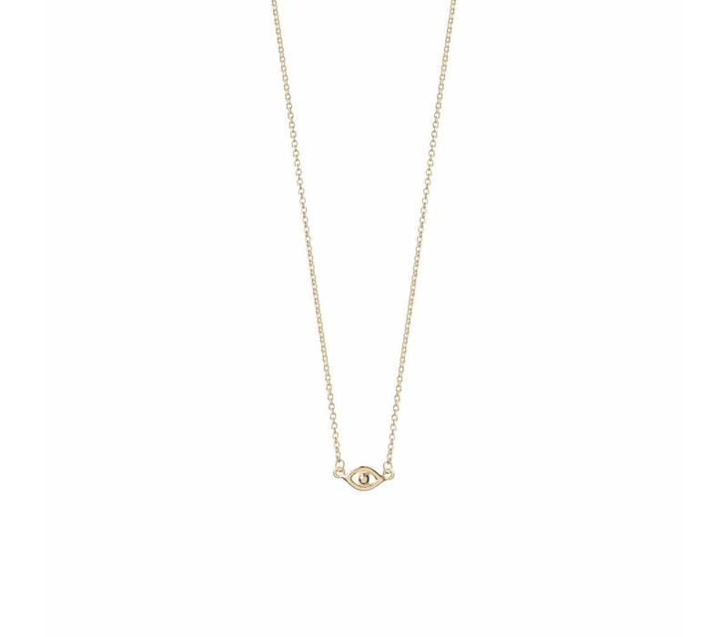 Capturize Necklace Gold Plated