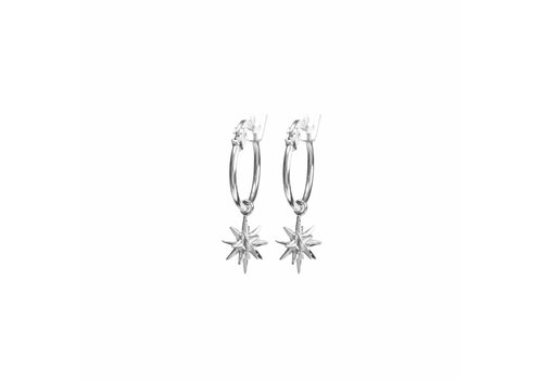 Rise Earrings Silver Plated