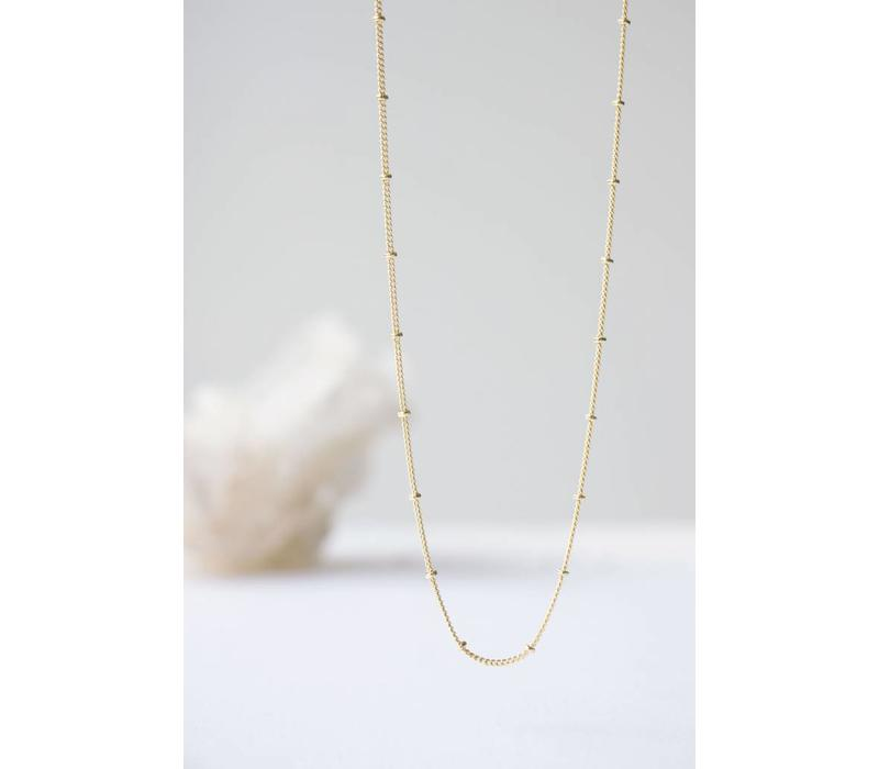 Balance Necklace Gold Plated
