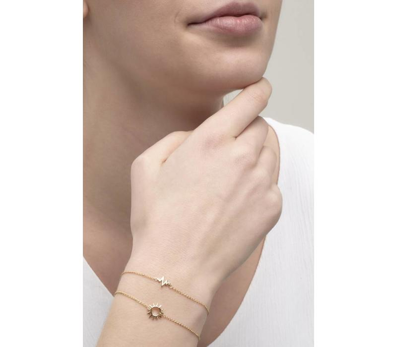 Rise Bracelet gold plated