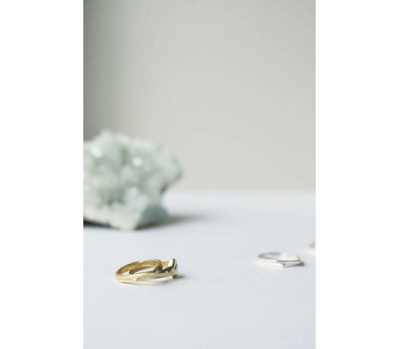 Mountain Ring Gold Plated