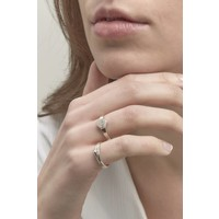 Mountain Ring Zilver