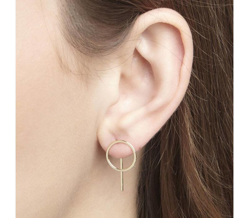 Desire Studs Gold Plated