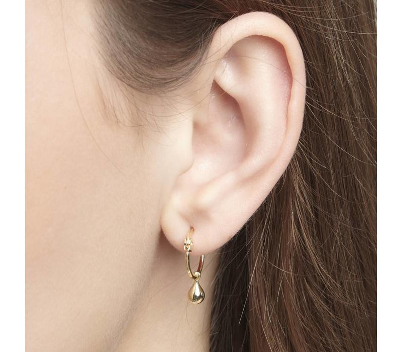 Calm Hoops Gold Plated