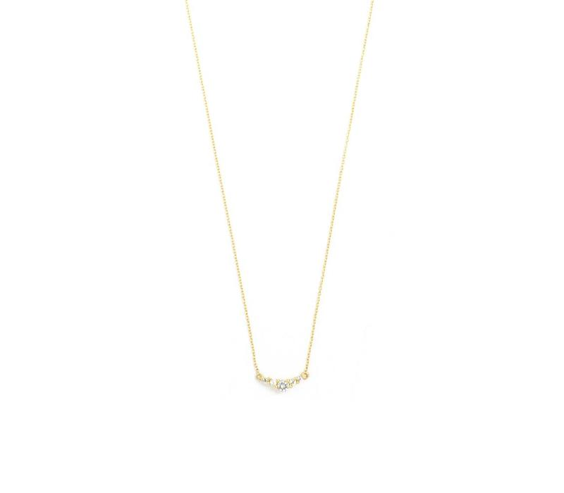 Enlighted Ketting 18 krt Goud