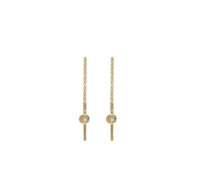 Enlighted Earrings Solid Gold