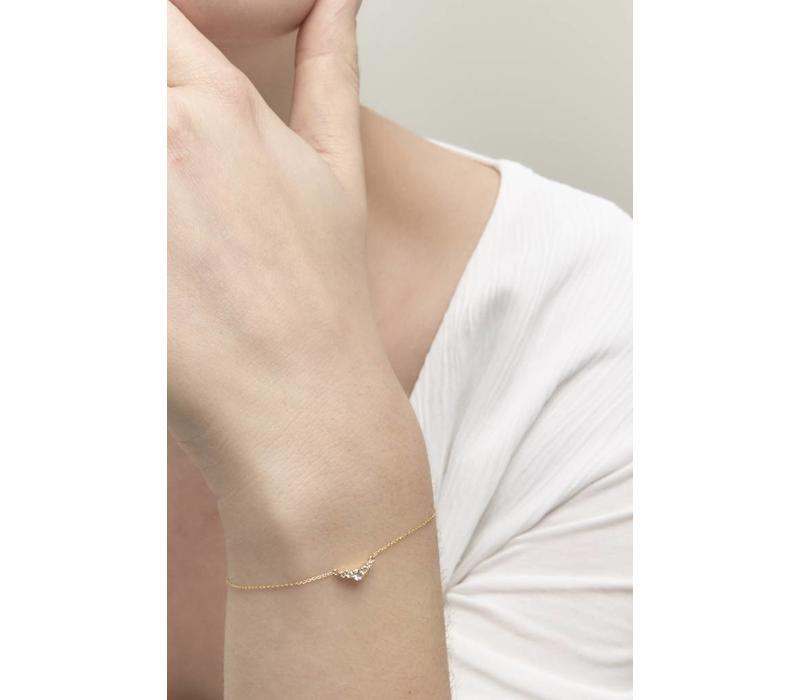 Enlighted Armband 18krt Goud
