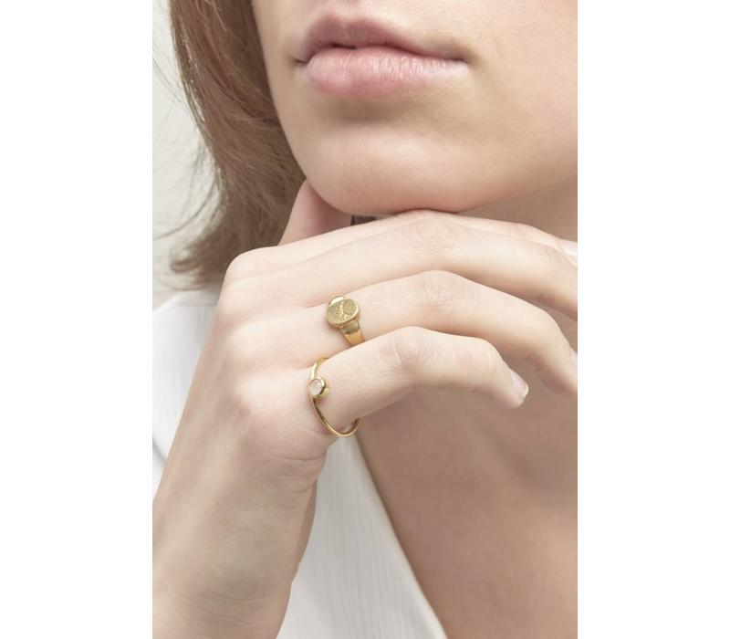 Mere Ring Gold Plated
