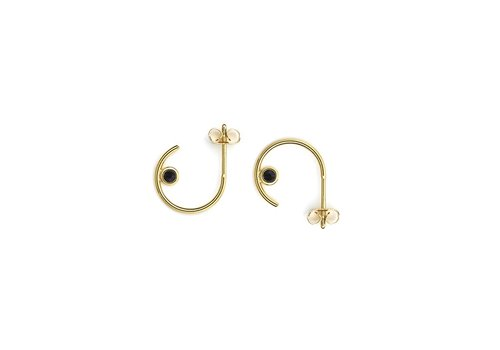 Balance Hoops Gold Plated