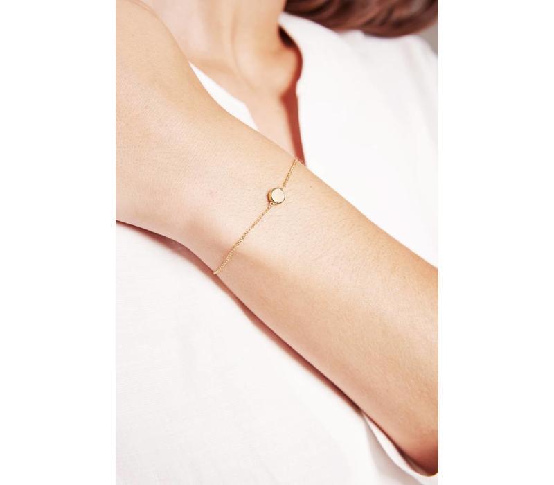 Glow Armband Verguld