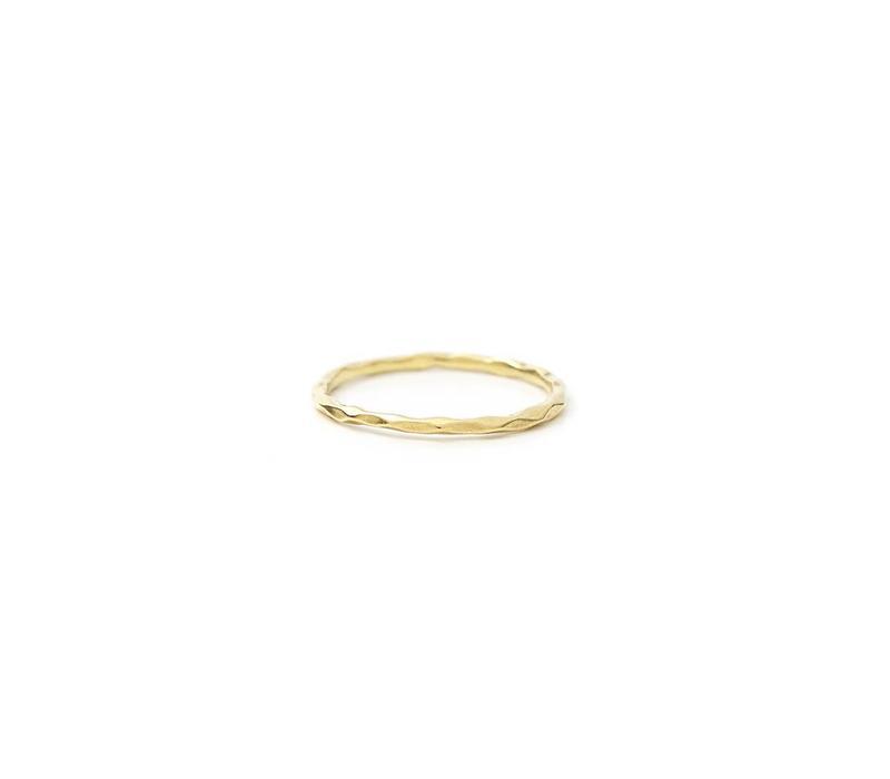 Glow Ring Verguld