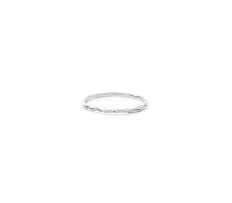 Glow Ring Zilver