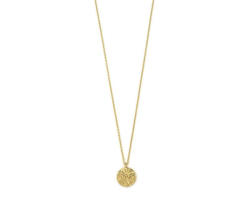 City Necklace Gold Plated