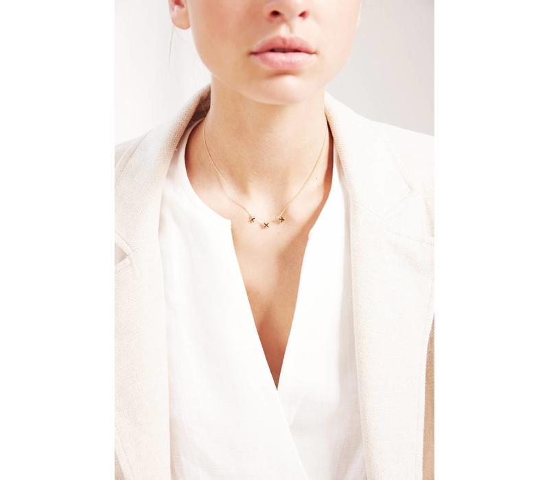 Metropolis Necklace Gold