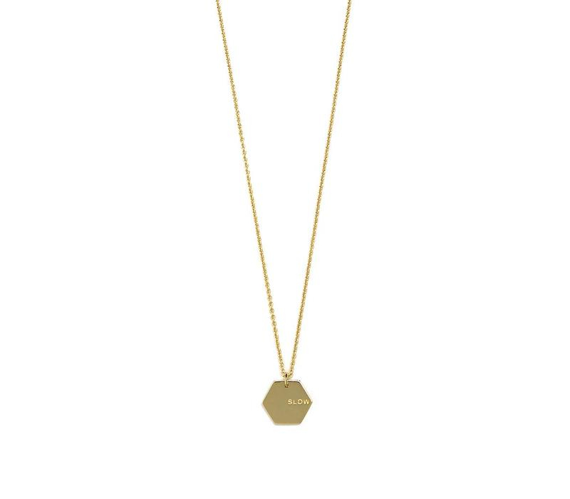 Slow Necklace Gold