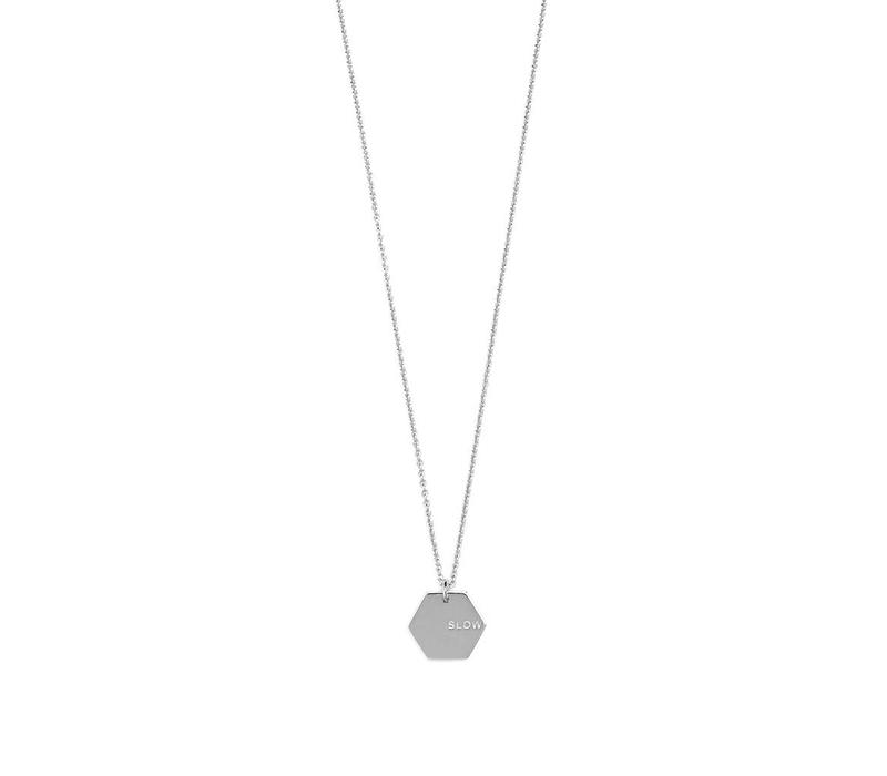 Slow Ketting Zilver