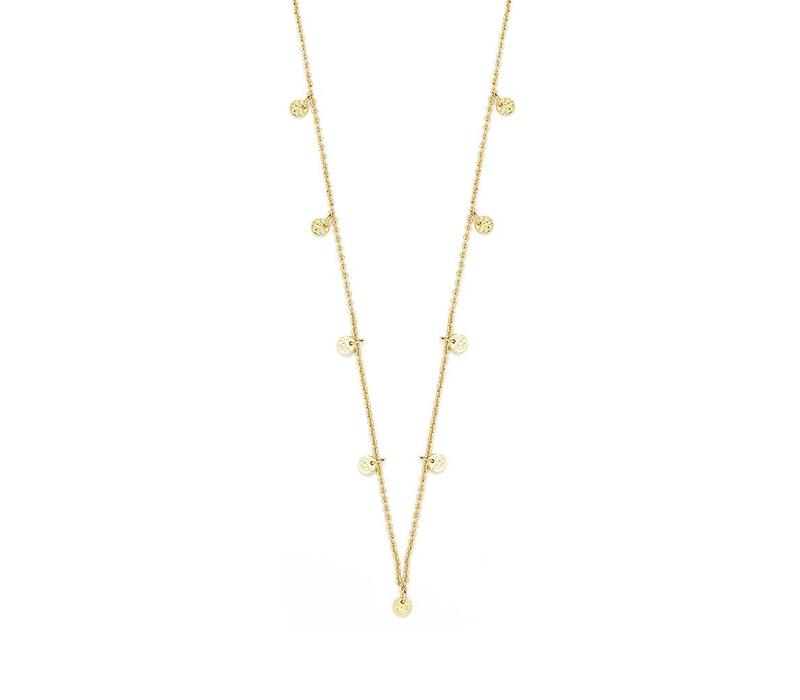 Light Necklace Gold Plated