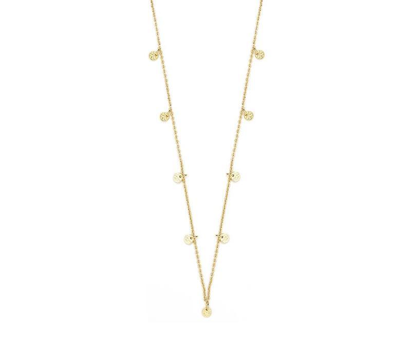 Light Necklace Gold