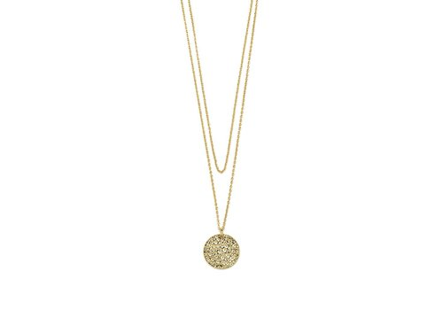 Gentle Necklace Gold Plated
