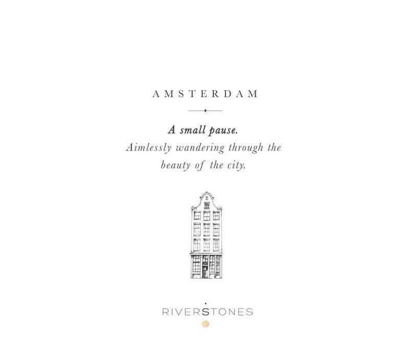 Amsterdam Ketting Goud - City